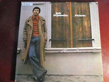 """JAZZ LP: JACK DEJOHNETTE """"PICTURES"""" 1977 ECM WHITE LABEL PROMO 1ST PRESS VG+ VG+"""
