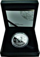 Südafrika 1 Rand 2020 Krügerrand Polierte Platte 1 Oz Silbermünze im Etui