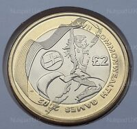 2002  COMMONWEALTH GAMES ENGLAND BU  £2 Two Pound Coin BU