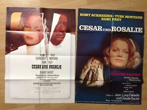 2 Filmposter * 2 Kinoplakate * A1 * Cesar und Rosalie * 1972 * Romy Schneider