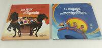 2 livres Le club des aventuriers de l'histoire Neuf Hachette Mc Do  Envoi suivi