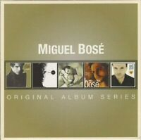 MIGUEL BOSE - ORIGINAL ALBUM SERIES (5CD BOXSET) - NEW SEALED