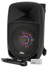 Mobile Beschallungsanlage 300W Musik Box DJ PA Karaoke Lautsprecher Sound System