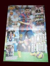 "LIONEL MESSI - Fc Barcelona - Tiki Tiki poster 2014 size 16,14"" x 10,83"""