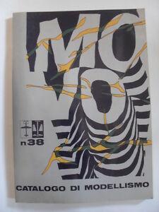 AA.VV.- CATALOGO DI MODELLISMO N. 38 - 1975