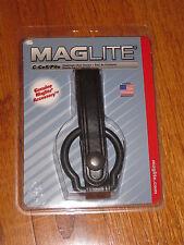 Maglite C CELL Flashlight Belt Holder Black Leather mag-lite mag-light Maglight