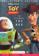Toy Story/Toy Story 2 DVD Set - Very Good Condition - Free Shipping - Pixar