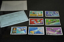 Set of Space Apollo Stamps - Manama - Mixed Lot  - 7 Varieties #A