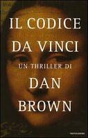 DAN BROWN, IL CODICE DA VINCI, MONDADORI 2004