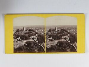 Stirling Scotland From The Castle - Stereoview c1860s By A Crowe