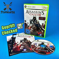 Assassin's Creed 2 II 100% Uncut - Xbox 360 - Geprüft - USK16 * Gut