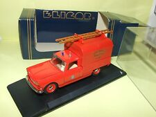 Peugeot 404 pick up bachee firemen of loiret eligor 1162 1:43