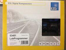 +++ ESU 53451 LokProgrammer inkl. USB Adapter