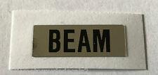 Honda CB450K High Beam Precaución Etiqueta 1972