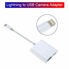 Lightning To USB Camera Adapter Durable For iPhone 11/XS/XR/8/7/6 Plus Ipad IOS
