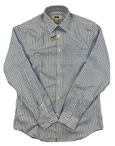 NEW Joseph Abboud Non-Iron Slim Fit Long Sleeve Button Up Shirt 15-1/2 34/35