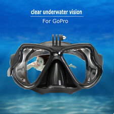 Camera Mount Diving Mask Oceanic Scuba Snorkel Swimming Goggles Glasses F/ GoPro