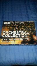KORG  SCHEDA EXB-PCM-06/07 ORCHESTRAL NUOVE .X TRITON CLASSIC/KARMA ECC.