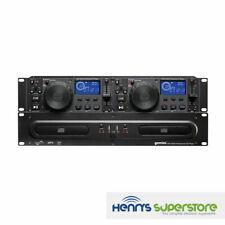 Gemini Cdx-2250i Twin DJ CD Player With Mp3 USB 19'' Rack Mount