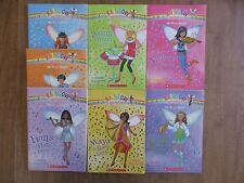 "Rainbow Magic ""The Music Fairies"" Fairy complete Set 7 Books Sadie Maya Poppy"