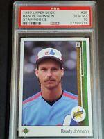 1989 Upper Deck #25 Randy Johnson RC, PSA 10 / GEM MINT