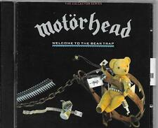 CD ALBUM 20 TITRES--MOTORHEAD--WELCOME TO THE BEARTRAP--1990