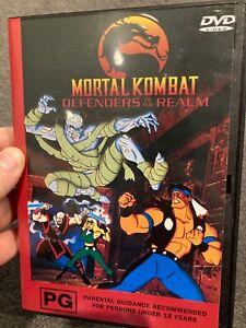 Mortal Kombat Defenders of The Realm Volume 3 region 4 DVD (animated series)