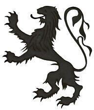 Écusson grande taille thermocollant patche Lion medieval patch déguisement DIY