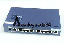 ZTE ZXR10 2609 8 port network speed limit switches New