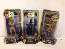 STAR WARS EPIC FORCE BESPIN LUKE SKYWALKER, C-3PO & DARTH VADER