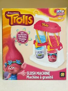 Dreamworks Trolls Slush Machine Icy Delights Kids Make Your Own Slushies Ages 5+