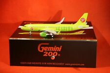 GEMINI JETS 200-651 S7  AIRBUS A320S SHARKLETS  reg VP-BOL 1-200 SCALE