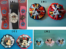 Au Choix : 3 BANDEAUX Cheveux Disney, BARRETTES cheveux Tissu ou Dentelle Disney
