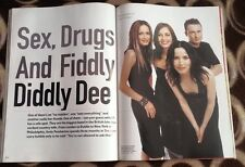 CORRS ' fiddley diddley dee' 7 page UK ARTICLE / clipping