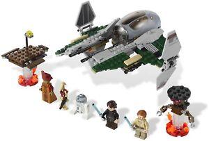 LEGO 9494 Star Wars ANAKIN'S JEDI INTERCEPTOR 100% Complete with Parts List 2012