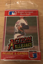 MLB 1984 Donruss Action All Stars Baseball Unopened Pack Puzzle & Cards V4