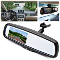 "4.3"" TFT LCD Auto Dimming Car Rear View Mirror Monitor Built-in Special Bracket"