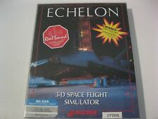 Echelon 3-D Space Flight simulator new PC game 3.5' disk
