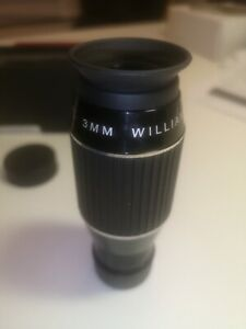 "Williams Optics Eyepiece 3mm 1.25"" boxed"