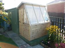 7' X 4' GOOD QUALITY WOODEN T&G SHIPLAP POTTING SHED