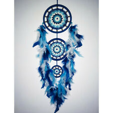 DREAM CATCHER WITH FEATHERS WOODEN OWL WALL HANGING ORNAMENT HOME BEDROOM
