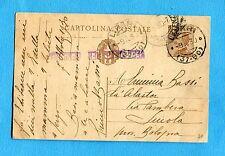 CONFINATI POLITICI A LIPARI - Cart.postale c.30 MICH.(C67)   (239559)