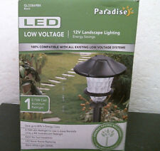 Paradise Gl33869Bk Low Voltage Led Path Light, Free Shipping