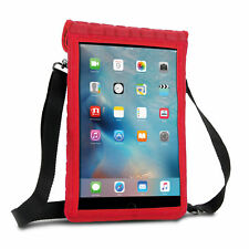 """Neoprene iPad Pro 10.5"""" Case with Screen Protector & Shoulder Strap (Red)"""