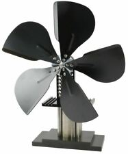Stirling Engine Powered Stove Fan Eco Friendly