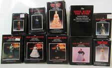Vintage Dave Grossman Gwtw Ornaments,Scarlett, Rhett,Mammy,Bonnie Blue, 10 Total