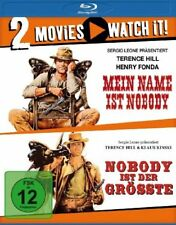 My name is Nobody + N. Is the Greatest- Terence Hill Blu-Ray Region A B C NEW