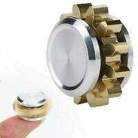 MINI Fidget Spinner Metal Gear Copper Figet Spinner Antistress Hand Toy For ADHD