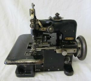Singer 81K (3)  Overlocker Sewing Machine, EB822805, 1938 Untested/Spares/Repair