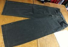 Vtg 90s JNCO Twin Cannon gray Wide Baggy skater Jeans mens label 36x32 FIT 34X31